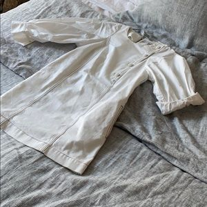 Worn ONCE Something Navy white mini dress